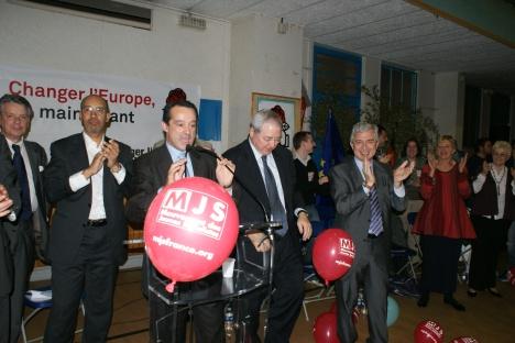 """Meeting de lancement de la campagne PS """"Européennes 2009"""" Ile de France"""